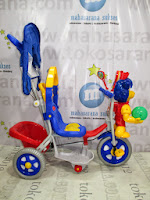 Family F993ET Lion Baby Tricycle