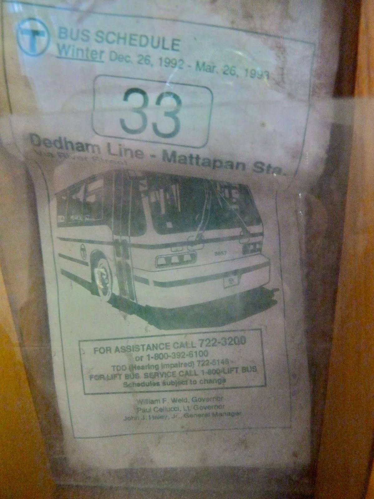 Miles On The Mbta Random Photos Some Truly Ancient Bus