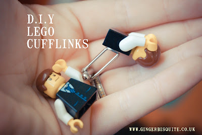 DIY Lego Cufflinks - SuperScrimper Fashion Tips