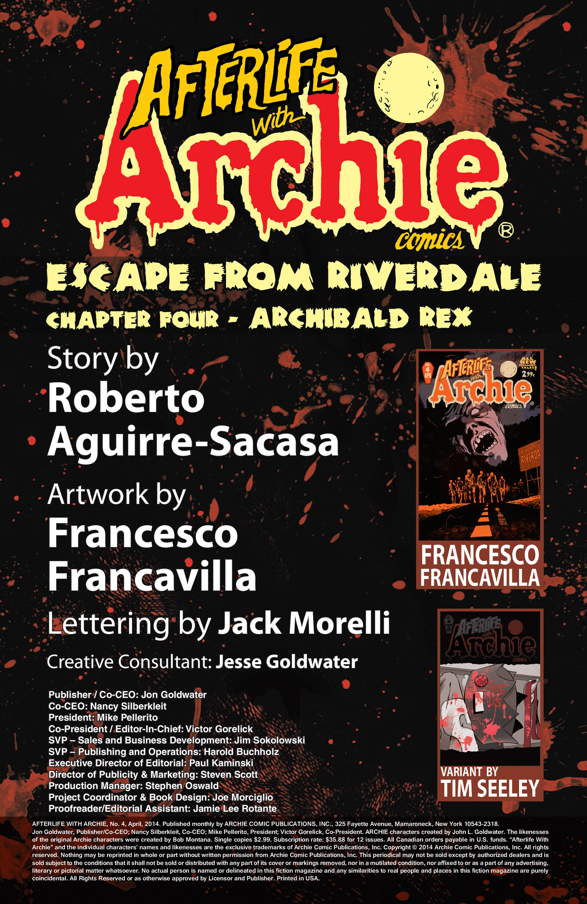 Read online Afterlife with Archie comic -  Issue #4 - 2