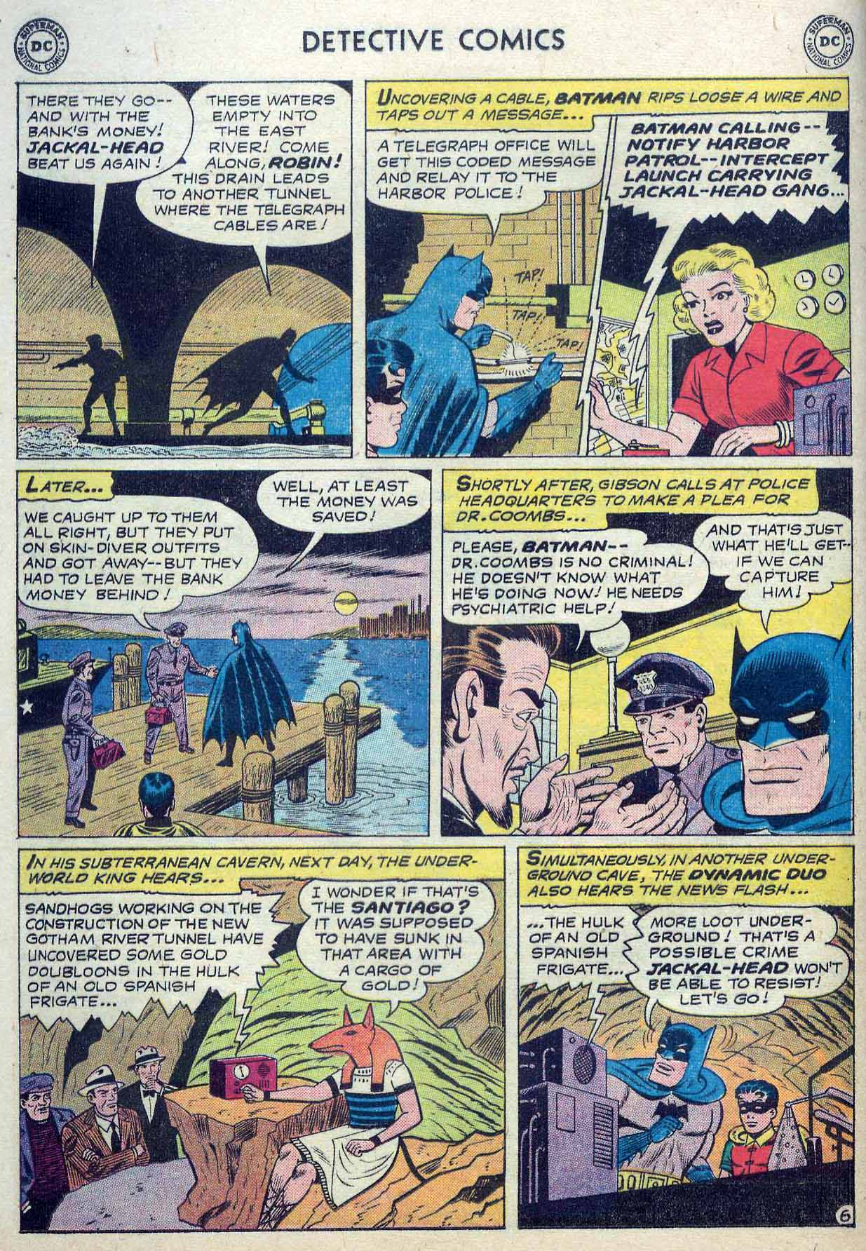 Read online Detective Comics (1937) comic -  Issue #262 - 8