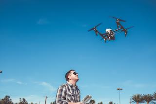 cara menerbangkan drone