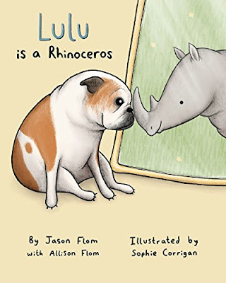 Though Lulu looks like a bulldog on the outside, she knows she's a rhinoceros on the inside! Lulu's journey can be read in two ways, either as a children's story about a dog's adventure to be herself or as a metaphor for people who are transgendered. Either way, there are clear messages: stay true to yourself, don't judge other people by their looks, and be yourself no matter what others say. #LuluIsARhinoceros #NetGalley #PictureBook #ChildrensLit