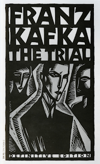 The Trial by Franz Kafka book cover