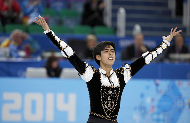Pinoy Pride: Michael Martinez Made it to the 2017 World Figure Skating Champions Finals!