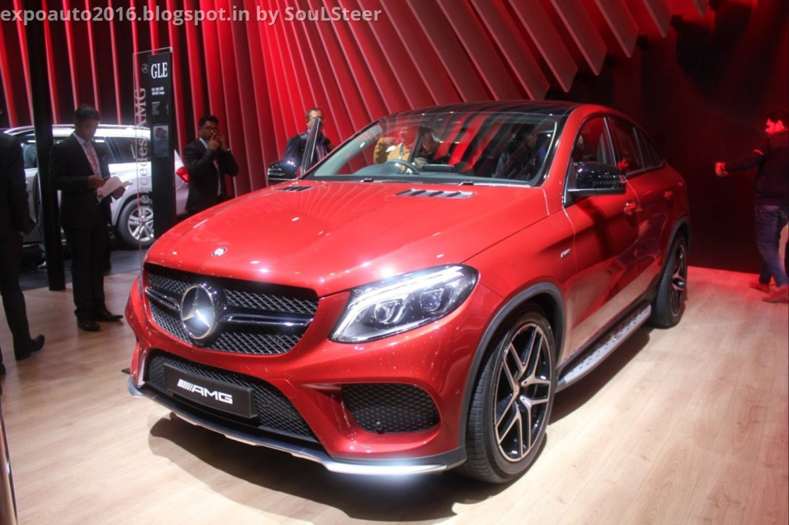 Auto expo 2016 by soulsteer mercedes benz gl 350 cdi for Mercedes benz gle 450