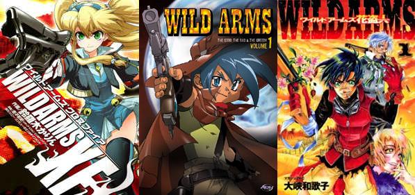 Wild Arms Manga and Anime