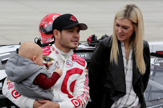 Kyle Larson With Katelyn Sweet