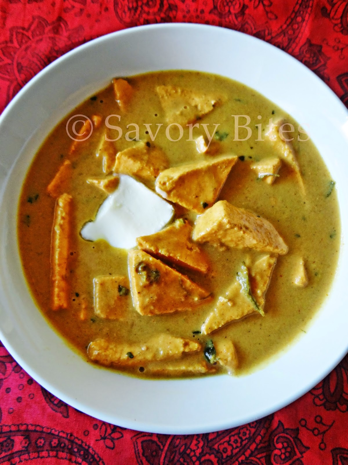 Paneer Butter Masala Indian Vegetarian Gravy