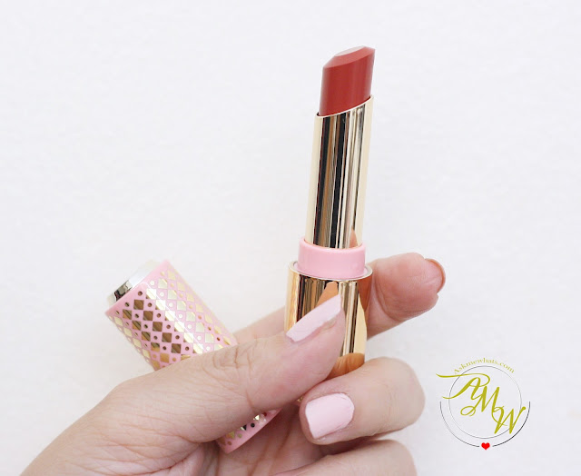 a photo of Etude House My Little Nut Dear My Enamel Lipstick in RD305