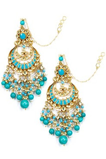 designer art karat necklace earrings jhumkis carmaonlineshop