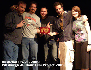 Hustlebot - 48 Hour Film Festival Winners - Pittsburgh 2009