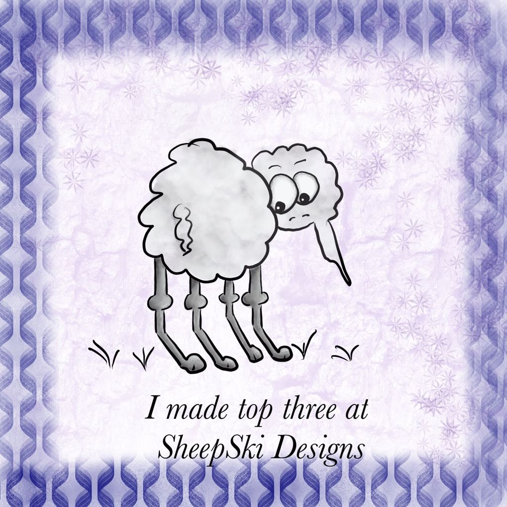 SheepSki Designs Badge