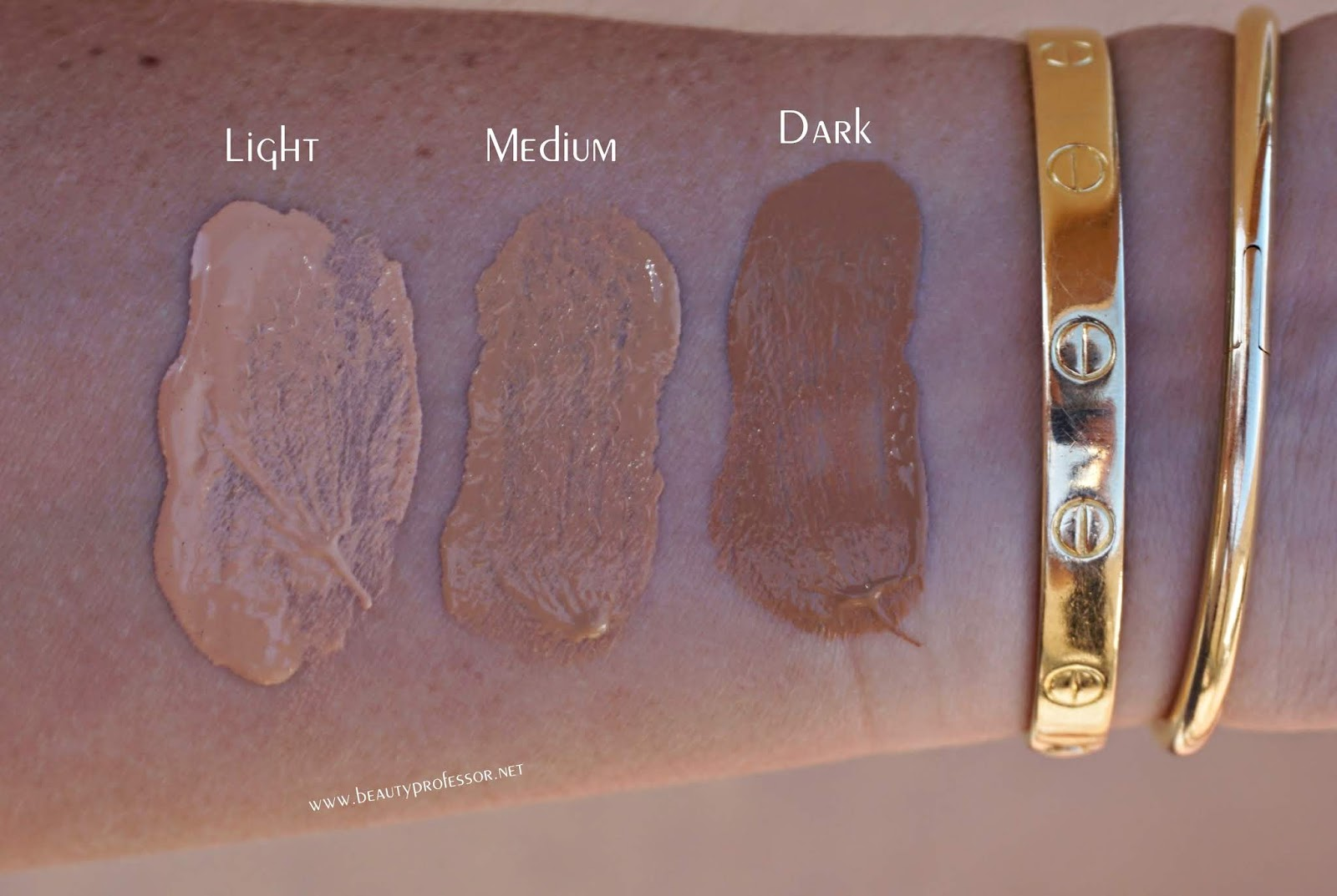 omorovicza complexion perfector swatches light medium dark