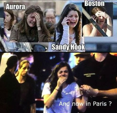 Crisis Actor At Different Shootings