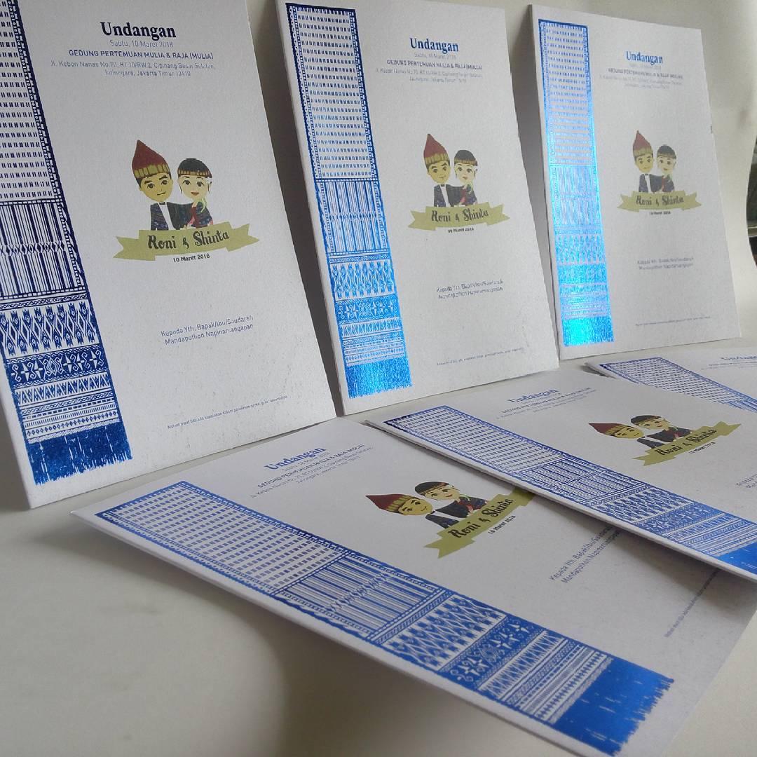 Contoh Desain & Isi Undangan Pernikahan Batak | Beranda Batak