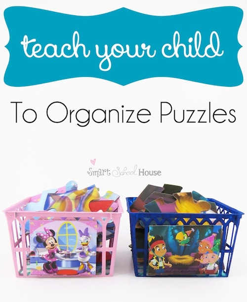 Teach Your Child to Organize Puzzles