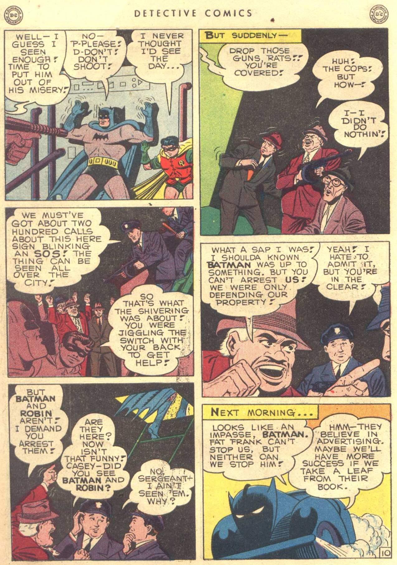 Read online Detective Comics (1937) comic -  Issue #104 - 12