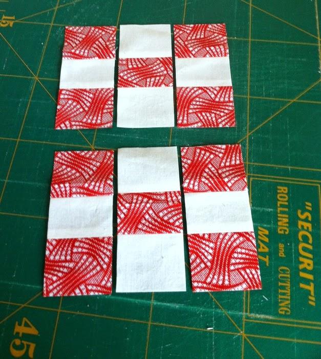 gesneden patches voor ninepatch blok