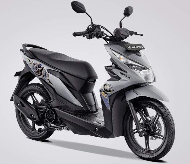 Warna Baru new Honda BeAT Street eSP 2019