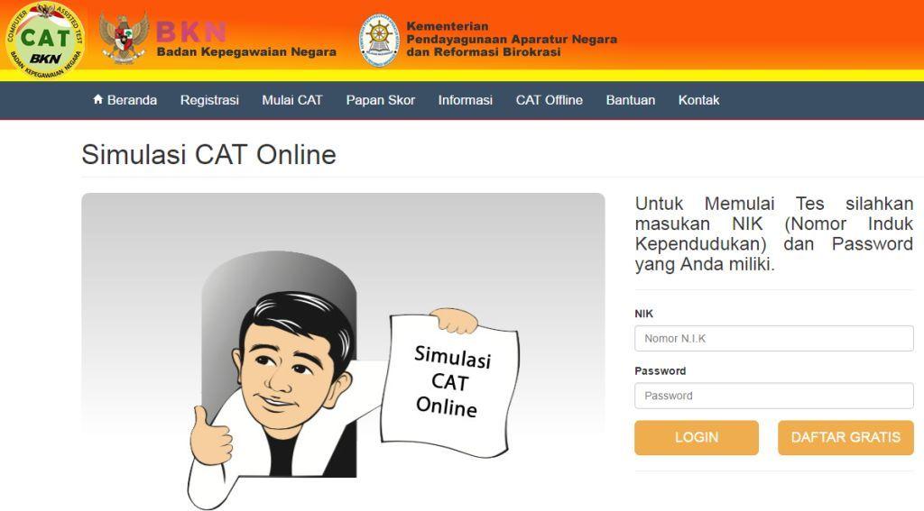 Contoh Soal Cat Untuk Ujian Tes Skd Kedinasan Stan Ipdn Sttd Poltekip Dan Poltekim Stin