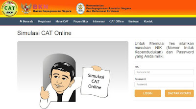 Contoh Soal CAT untuk Ujian Tes SKD Kedinasan  Sscn.bkn.go.id Contoh Soal CAT untuk Ujian Tes SKD Kedinasan STAN, IPDN, STTD, Poltekip dan Poltekim, STIN, STIS, STMKG, STSN)