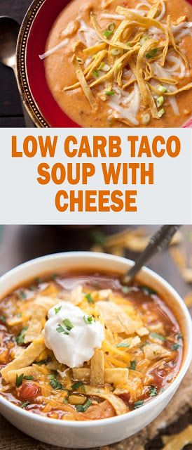 LOW CARB TACO SOUP WITH CREAM CHEESE