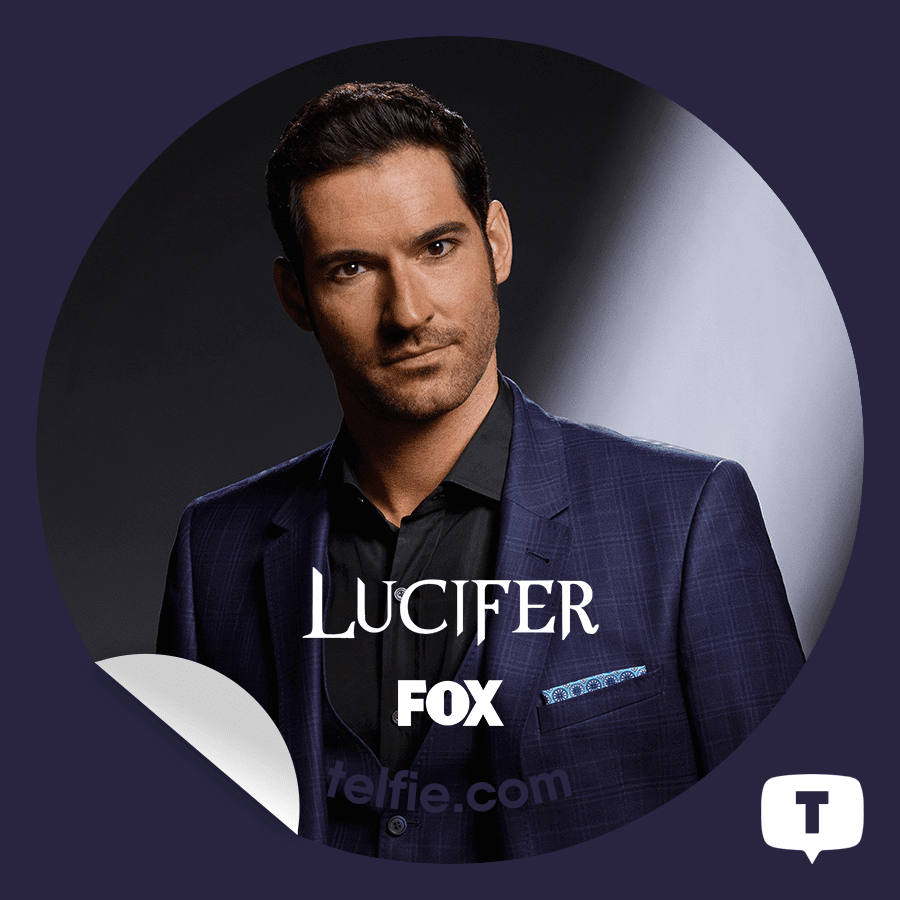 Lucifer Episode 2: :: PCholic ::: New Telfie App Stickers #Lucifer! From FOX