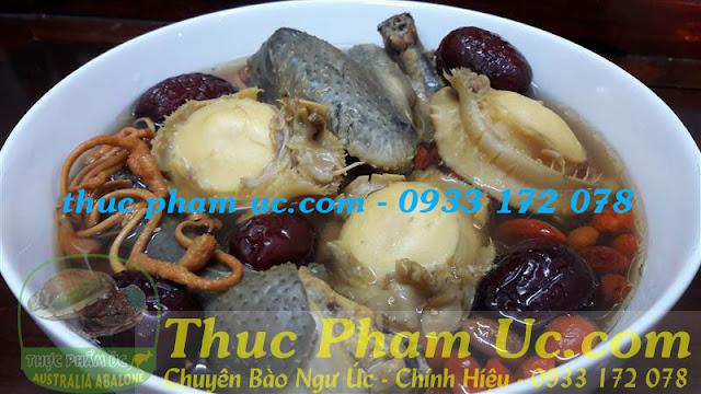 Món canh bào ngư úc bổ dưỡng cho người bệnh