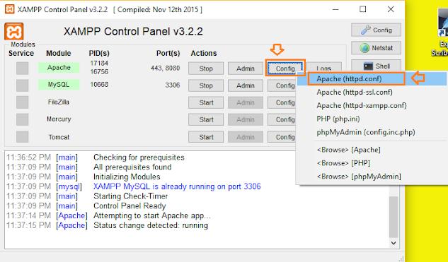 How To Change The XAMPP Server Port In Windows 10 | Apache Server Port 2