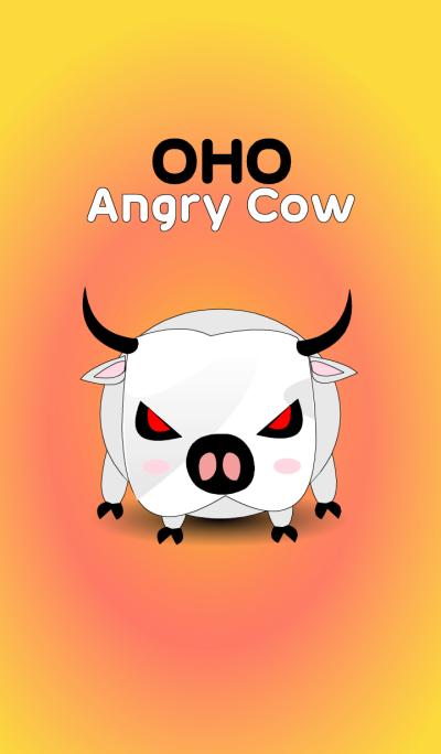 OHO Angry Cow