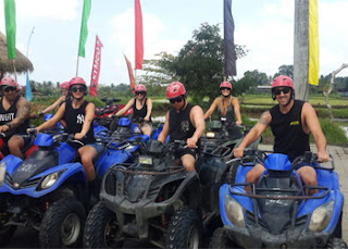 Bali Tandem ATV Ride Tour | Tours Riding an Tandem ATV Bike | Sunia Bali Tour