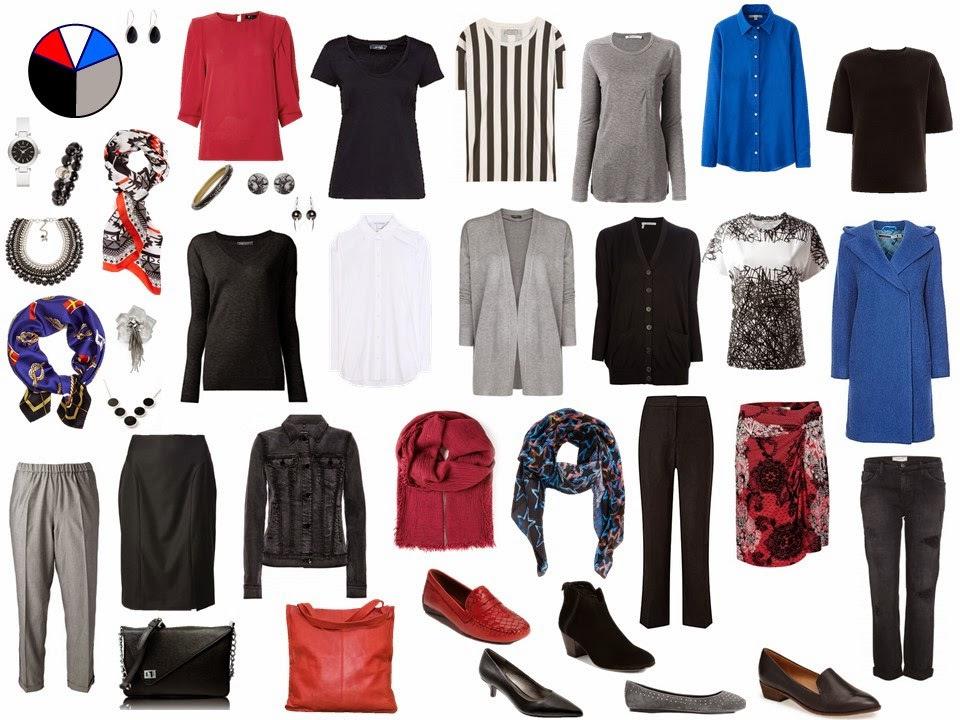 How to build a capsule wardrobe - step 13 - more accessories