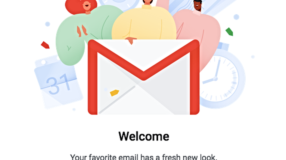 How to get the new Gmail right now
