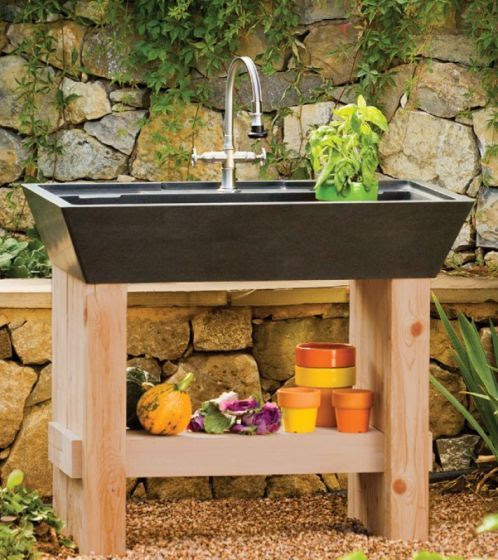 Friday Find - Stone Forest Salus Potting Sink
