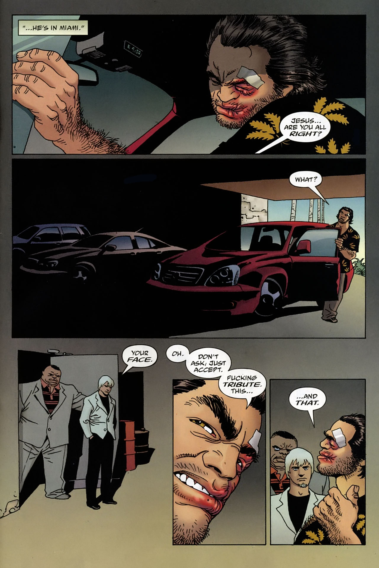 Read online 100 Bullets comic -  Issue #96 - 20