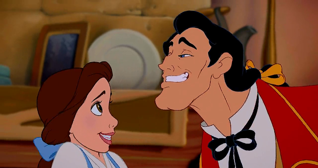 Gaston Belle Beauty and the Beast animatedfilmreviews.filminspector.com
