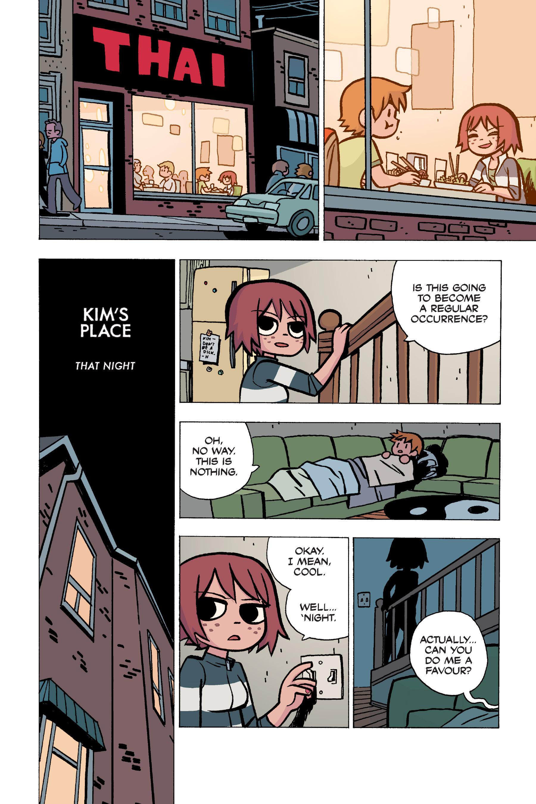 Read online Scott Pilgrim comic -  Issue #5 - 69