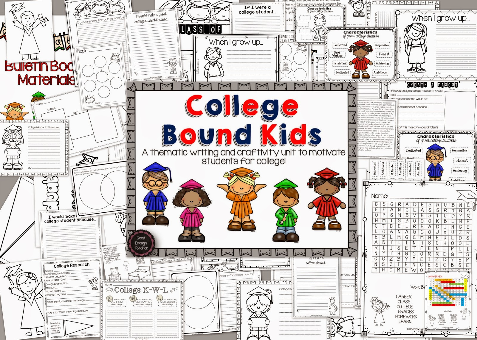 Good Enough Teacher College Bound Kids A New Packet