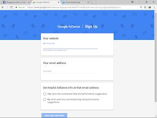 Tips Cara mendaftar akun adsense non hosted Full Approve terbaru