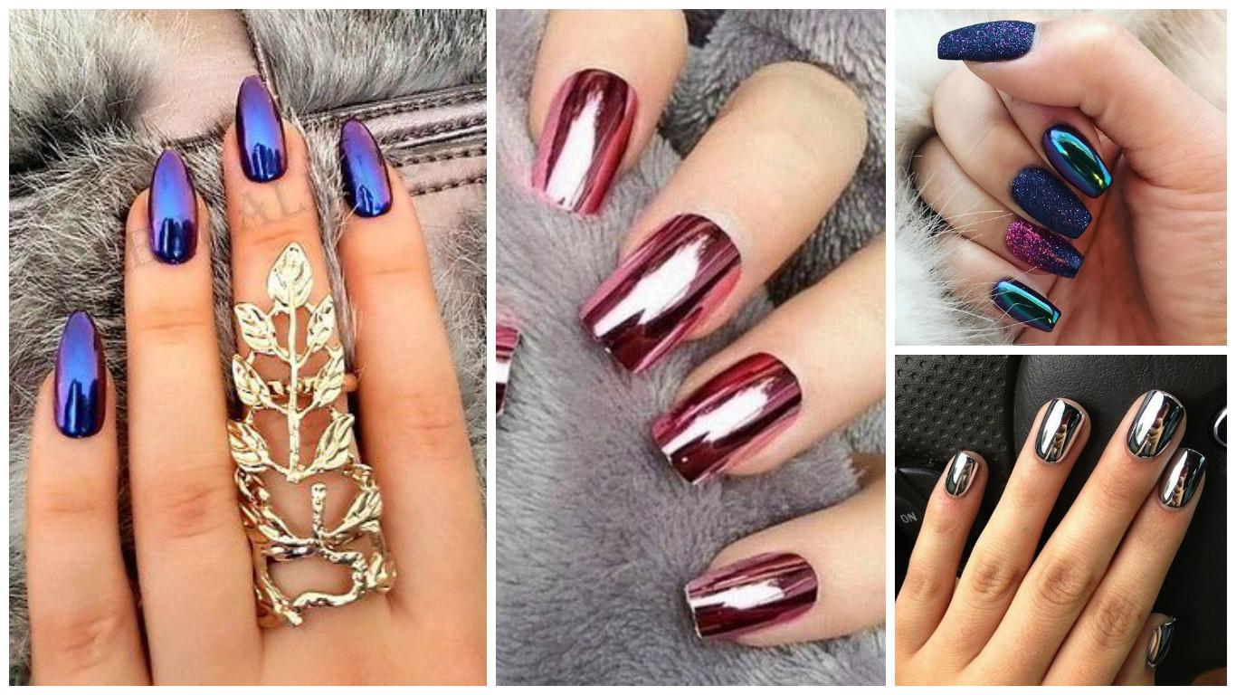 Cómo hacer el efecto espejo en las uñas paso por paso ~ Belleza y ...