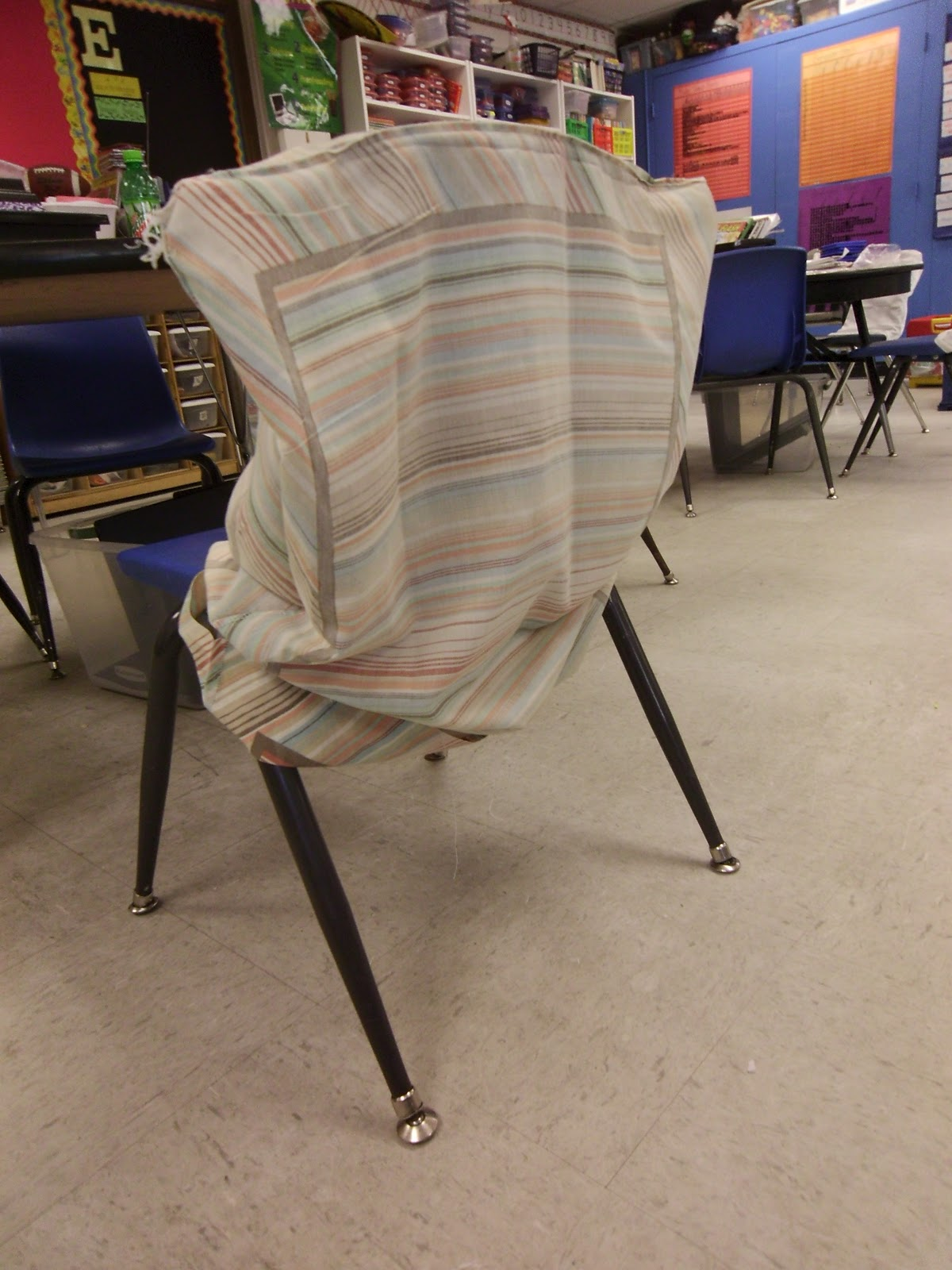 no sew chair pockets bar tables and chairs for sale the pinterest diaries pillowcase