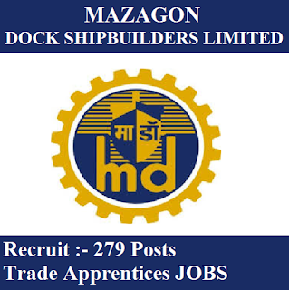 Mazagon Dock Limited, MDL, MDL Answer Key, Answer Key, mdl logo