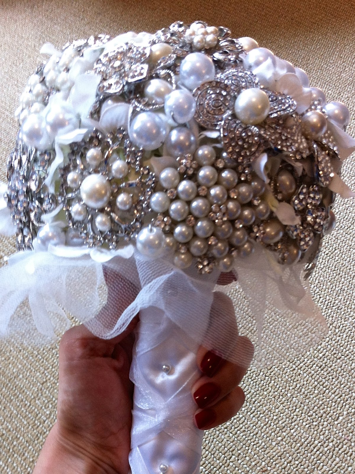 Have You Seen My New Diy Brooch Bouquet Page