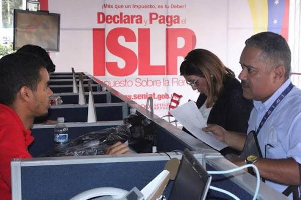 Anuncio oficial exoneración pago del ISLR a quienes ganen menos de 32 mil U.T