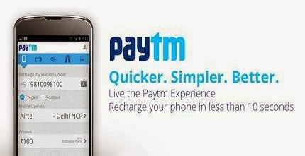 Paytm Coupons 2015 - All Discount Offers And Cashback Promo Coupon Codes For 2015