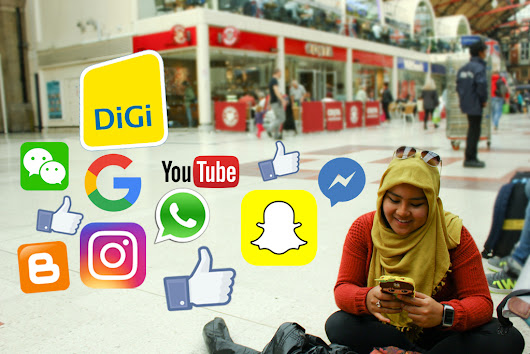 What So Sizzle Bout Sizzling Suzai - Malaysia Fashion, Travel and Lifestyle Blogger: Digi Postpaid Plan for My Unlimited 4G Weekend