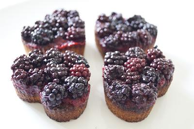 Brombærtærter