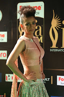 Akshara Haasan in Peachy Crop Top Choli Skirt at IIFA Utsavam Awards 73.JPG