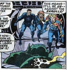 Fantastic Four 93 Skrulls